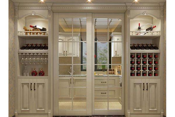 济南实木酒柜的常用规划风格